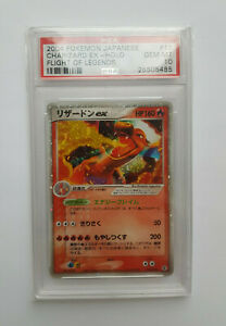 PSA-GEM-MINT-10-Unlimited-Charizard-EX-Japanese-Starter-Deck-Pokemon