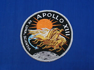 Vintage-Original-Apollo-13-XIII-Embroidered-Crew-Patch-as-worn-by-crew