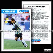 CHILAVERT JOSE LUIS (VELEZ STARSFIELD) - Fiche Football / Fútbol 1995