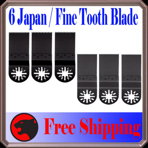 6 Japan//Fine Wood Oscillating MultiTool Saw For Blade Fein Multimaster Genesis