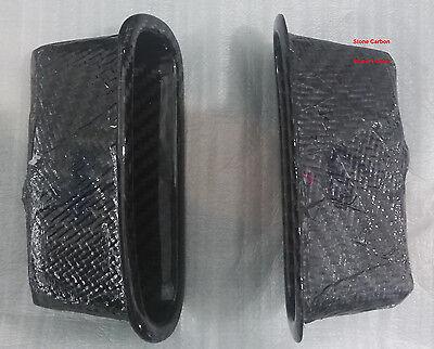 Real Dry Carbon Fiber Door Part 2PCs For Honda Civic EG 92-95