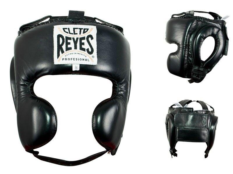 Cleto Reyes Klassisch Wange Schutz Boxen Kopfschmuck - Schwarz