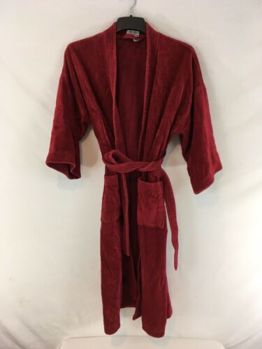 Sterling Manor One Size Burgundy Turkish Cotton Te