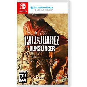 Call of Juarez: Gunslinger (Full Game Download) Switch [Brand New]
