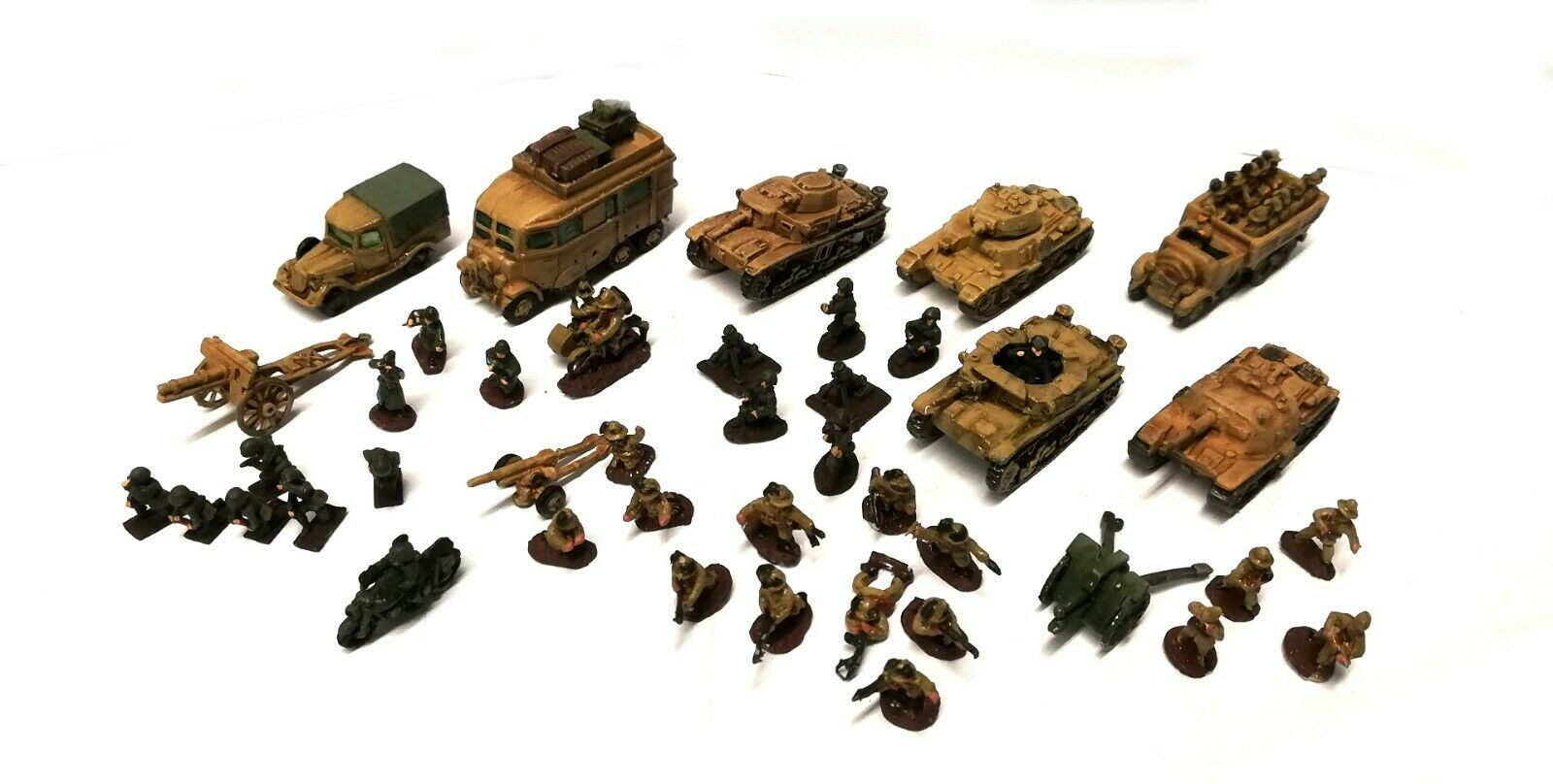 Pithead - Italian Army WWII - 10mm - Painted