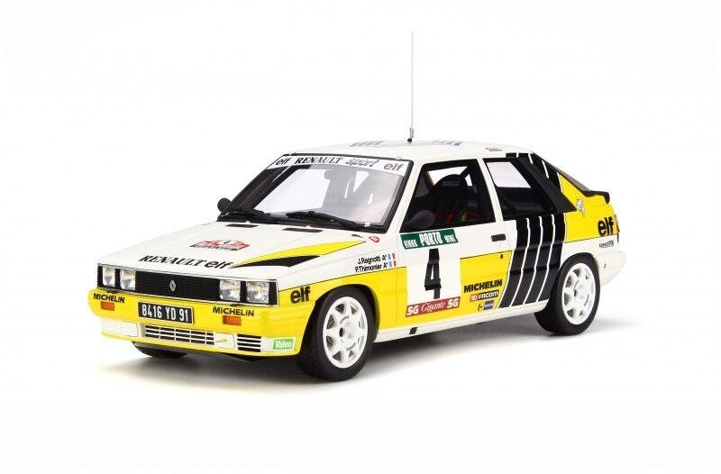 RENAULT 11 Turbo Rally Portogallo 1984  4 Ragnotti MIS. a undici otto NUOVO 1 18