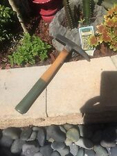 Vintage Masons Hammer Stanley Green Handle