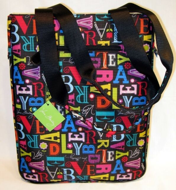New Vera Bradley Laptop Travel Tote From A To Frill Computer Bag
