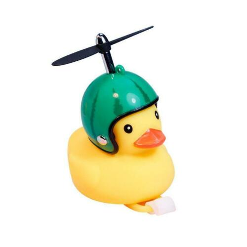 Bicycle Duck Bell with Light Broken Wind Small Yellow Duck For Motorcycle Car