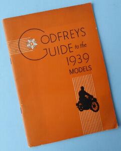1939-MOTORCYCLE-BROCHURE-BOOK-BSA-RUDGE-BROUGH-AJS-NORTON-TRIUMPH-MATCHLESS-VTG