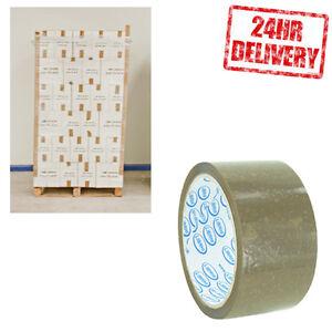 1 PALLET (90 BOXES) LIBRHI BUFF 48MM X 66M PARCEL PACKING ELEMENTAL TAPE JOB LOT