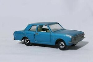 Matchbox-Superfast-Series-Lesney-25-Ford-Cortina-Blue-Loose