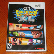 Cartoon Network: Punch Time Explosion XL Nintendo Wii  *NEW*