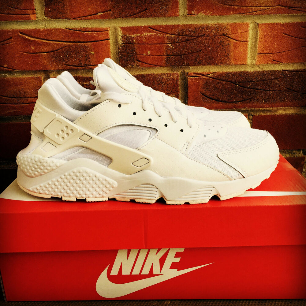 Nike Air Huarache Triple Blanc