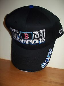0d122b5a71e One Size Fits All BOSTON RED SOX 2004 WORLD SERIES CHAMPIONS HAT CAP ...