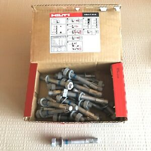 Box-of-25x-Hilti-HSA-F-M12-Stud-Anchor-M12-x-115-HSA-F-Carbon-Steel-Galvanised
