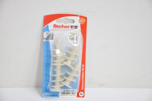 Fischer FID 50 K SB-Karte Inhalt: 4 x Dämmstoffdübel 016810 18-MA3575/102