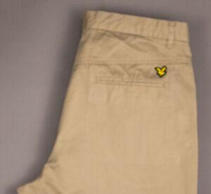 Lyle & Scott Hommes Vintage Décontracté Pantalon Chino Taille 52 (W34 L34)