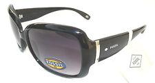 NEW women's  FOSSIL FW2  black  sunglasses