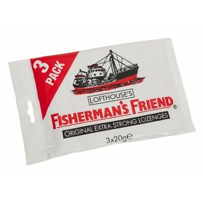 Fisherman's Friend Caramelos Original (3x20g)