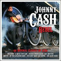 Johnny Cash Rebel Best Of 60 Songs Essential Collection Country Music 3 Cd