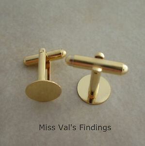 6-cuff-link-findings-gold-plated-12mm-round-flat-pad