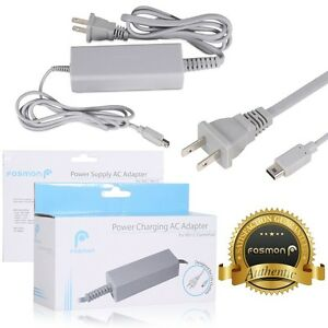 Fosmon-AC-Power-Supply-Charging-Adapter-Cable-Cord-For-Nintendo-Wii-U-Gamepad
