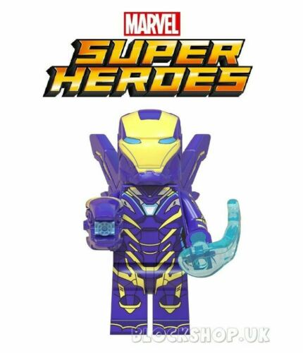 Marvel Iron Man /& méchant Set-AVENGERS INFINITY WAR-s/' adapte lego figure