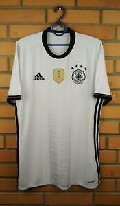 Germany Jersey 2016 Home M Shirt AI5014 Football Adidas Soccer Trikot Maglia