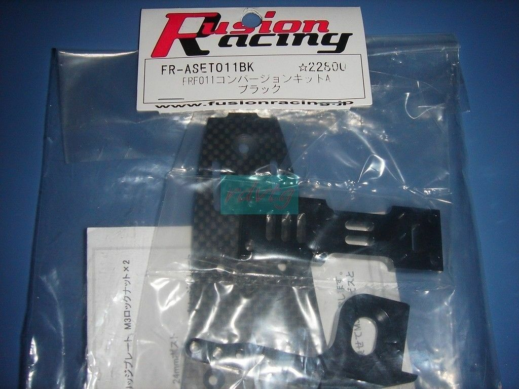 Tamiya f103 & f104 frf011 conversion kit   bk (fusion racing)