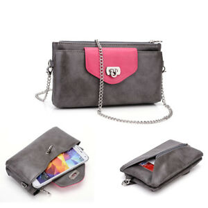 KroO-Universal-Clutch-Wallet-Purse-with-Chain-fits-Smartphones-upto-6-3-Inch