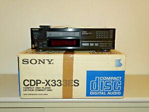 Sony CDP-X333ES High-End CD-Player Schwarz in OVP, FB&BDA, 2 Jahre Garantie