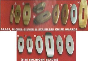 Knife-Guard-Knifemaking-Guards-Fits-Bowies-Daggars-Clip-Point-Knives-Blades
