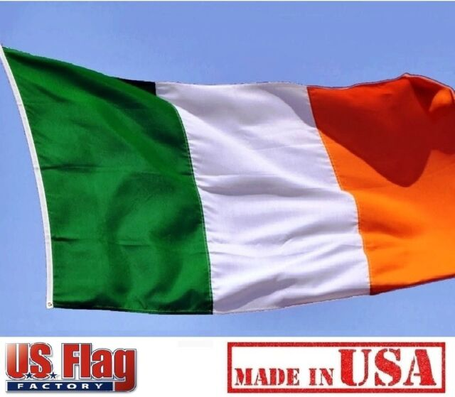 IRELAND FLAG 3 x 5 FOOT FLAG NEW HIGHER QUALITY ULTRA KNIT 3x5 FLAG