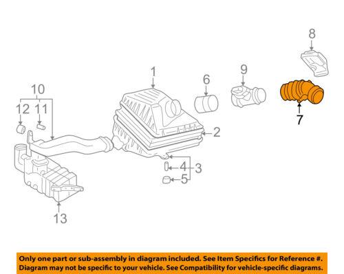 HYUNDAI OEM 99-05 Sonata Air Cleaner Intake-Hose Duct Tube 2813937101