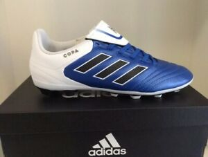 Outlet-Verkauf akribische Färbeprozesse Kaufen Sie Authentic Details about Adidas Copa 17.4 FxG J Firm Ground Soccer Cleats Blue And  White Youth Size 6