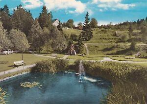 Hahnenklee-Bockswiese-Kuranlagen-Ansichtskarte-1967-gelaufen