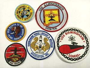 USA Lot de 6 patchs