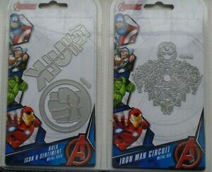 Marvel Avengers Die Set-iron Man Icon /& Sentiment