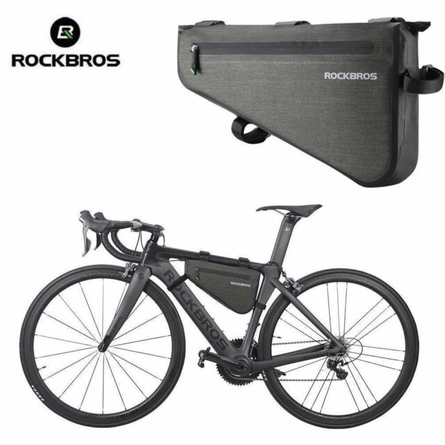 RockBros Cycling Bag MTB Road Biketriangle Large Tube Frame Bag 5l ...