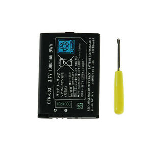 New-1300mAh-3-7V-Battery-Replacement-Pack-Tool-For-Nintendo-3DS-US