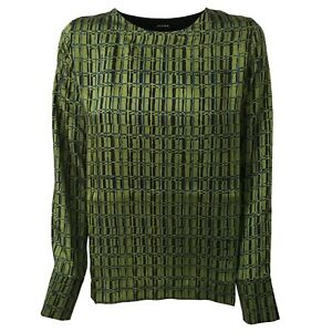 Ad Made Schwarz grün Studio Italy Bi shirt 9552c material In Mod ... b04536161ea44