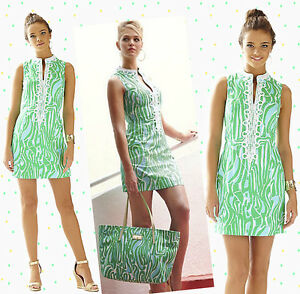 8f852c753b6e6d $198 Lilly Pulitzer Alexa Finders Keepers Print High Collar & Lace ...