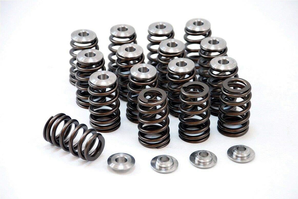 details about gsc beehive valve spring kit with ti retainers for nissan  sr20det 240sx silvia