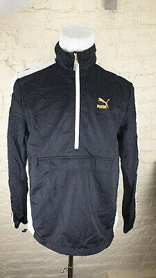 PUMA SUEDE Men's Half Zip Jacket Size