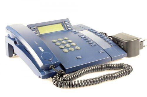 Auerswald COMfort 2000 Base mit Xtension /& Netzteil blau Systemtelefon mit MwSt.