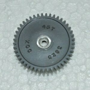 1960-039-s-Cox-45-Tooth-Spur-Gear-48-Pitch-Original-Vintage-Slot-Car-NOS-45T-1-8-034