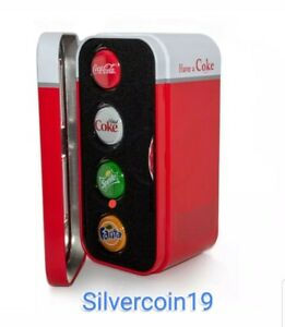 Fiji-COCA-COLA-FANTA-SPRITE-COKE-DIET-Silver-Coin-Set-1-Bottle-Cap-2020-Vending