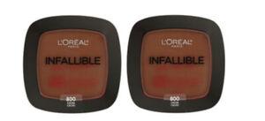 Lot-of-2-Loreal-Paris-Infallible-Pro-Matte-Powder-800-Cocoa