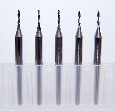 """single flute carbide endmills for plastic Kyocera 1500.0394.158 1.00mm .0394/"""""""